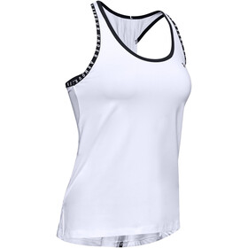 Under Armour Knockout Tank Women white-white-black